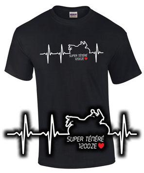 XT1200Z Tuning Super Ténéré 1200 ZE Zubehör Umbau Test T-Shirt