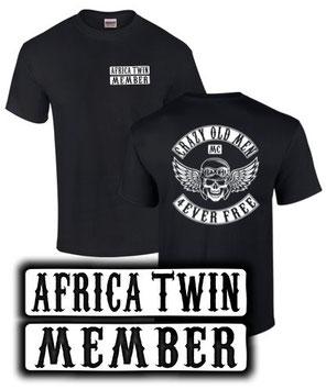 Africa Twin T-Shirt Tuning Zubehör CRF 1000 L