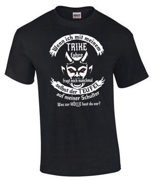 Trike Tuning Triker Treffen T-Shirt Teufel Hölle
