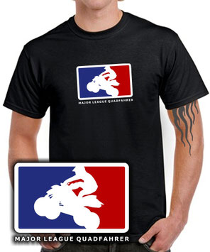 MAJOR LEAGUE QUAD FAHRER T-SHIRT FUN TUNING für Quad, cross Bike & atv Fans