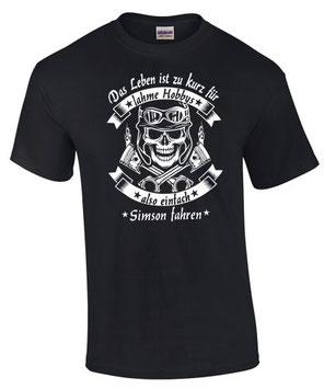 Simson Tuning Zubehör T-Shirt Teile s sr kr 50 51 4