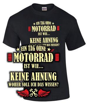 t-shirt motorrad sprüche vintage therapie chapter rocker biker schwalbe norton ddr ein tag keine ahnung