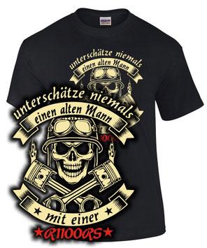 R1100RS Tuning Biker T-Shirt Spruch ALTER MANN MIT Motorrad Fun Zubehör