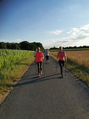 Nordic Walking mit MWfit.de