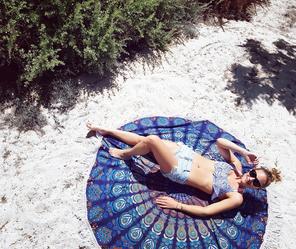 Bohemida Roundie Blue Paradise
