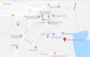 C'COM se situe au 10 rue des entrepreneurs 29290 Sint-Renan