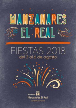 Fiestas de Manzanares el Real 2015 Cartel