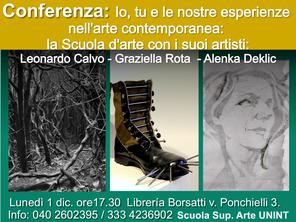 Conferenze trieste,  Art Caffe:  Artisti Scuola d'Arte UNINT