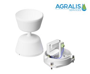 pluviomètres à augets distribué par Agralis, expert en irragation et économies d'eau