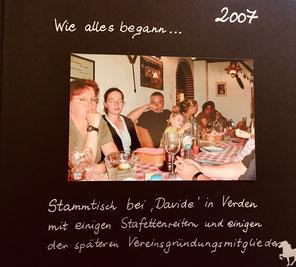 Stammtisch anlässlich des Staffettenritts 2007(Foto:RR)