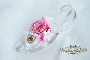 ガラスの靴 プロポーズ ディズニー ミラコスタ フラワー