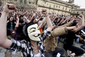 Den spanske Indignados – bevægelse