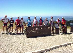 """Le """"premier groupe"""" au sommet (1750m)"""
