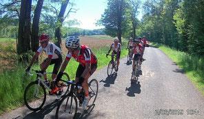 """Après le """"clm"""", on rejoint Mably en vélo pour la dernière étape"""