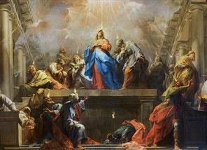 Pentecôte, Jean Restout, Louvre
