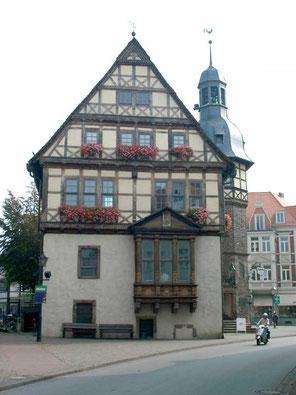 Historisches Rathaus Höxter, Foto: Tourist-Information Höxter