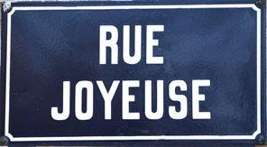 Fignières, rue Joyeuse