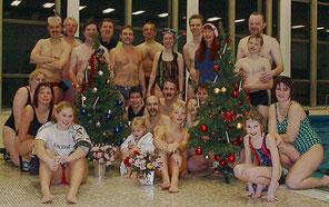 Stilecht: Weihnachten im Badeanzug