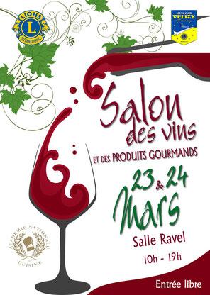 Salon 2019 des Vins et des Produits Gourmands à Vélizy.