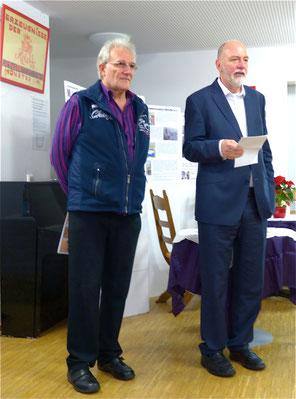 v.l.: Rainer-Ludwig Daum, Herbert Stallkamp