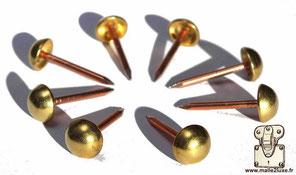 méthode pour construire votre malle clous cloué