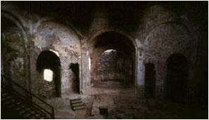 interno delle Terme della Rotonda