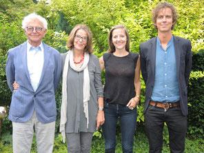 Bild Familie Steger: Janna. Traugott, Johanna, Peter Steger