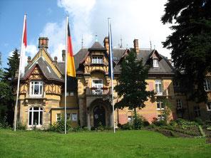 フランクフルト郊外のロスチャイルド家のホテル