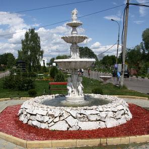 Фонтан на Митинском кладбище
