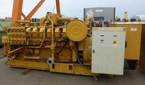 Groupe électrogène terrestre gaz CAT 3516 Caterpillar - Les occasions Lamy Power