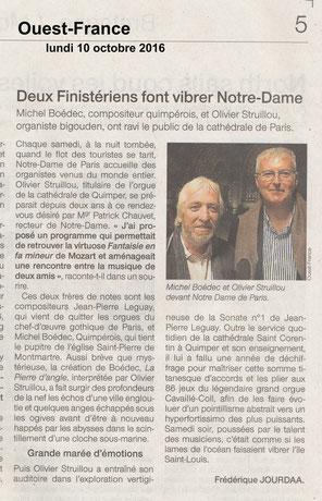 Michel Boédec et Olivier Struilhou