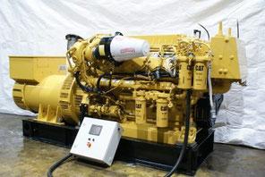 Landed Generator set CAT C-32 Caterpillar - Lamy Power special Deal