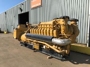 Landed Generator set CAT 3408 Caterpillar - Lamy Power special Deal