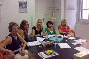 A Door to Italy-Classe in gruppo.