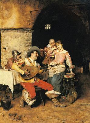 La serenata, Federico Andreotti