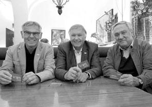 Die VAWIS Experten vlnr: Huber, Holzer, Muchar (© StudioHorst)