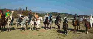 Les cavaliers du Mazet à Valbonne