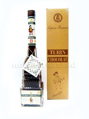 turin chocolat bottiglia a forma di Mole Antonelliana