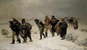 ナポレオン(フランス帝国軍)の敗北