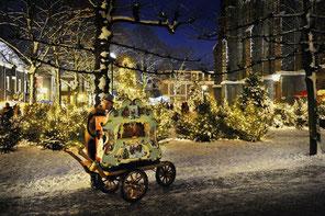 Sfeervol Delft, stad in kerstsfeer, Lichtjesavond