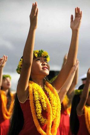 Hawaiianisches Mädchen