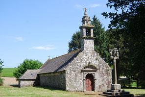 La chapelle Saint Salomon à Plouyé