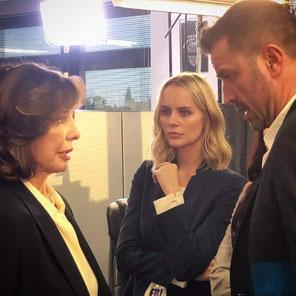 mit Anne Archer und Helena Mattheson