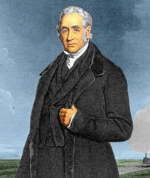 George Stephenson, 1781-1848 (Wikipedia)