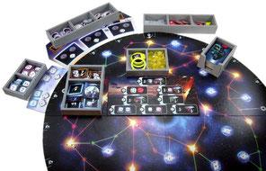 folded space insert organizer Pulsar 2849 foamcore