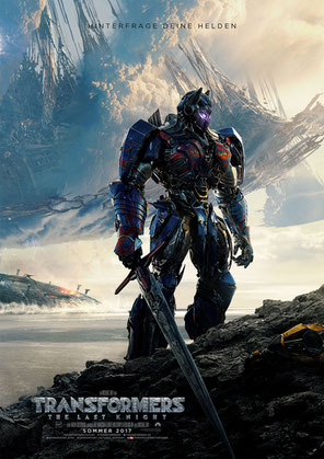 Transformers 5 - The Last Knigt - Paramount - kulturmaterial