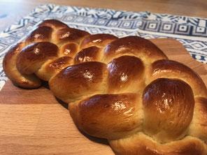 ドイツのツォップフ(Zopf)風 編みパン - パン作り講座 - パンと和菓子の教室 MANA Belle World ( マナベルワールド )
