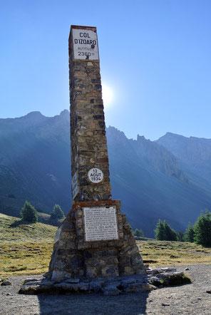Am Col d'Izoard auf 2.360 Meter
