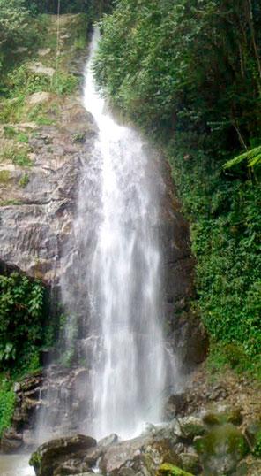Cascada en Parque Nacional Montaña, Comayagua.