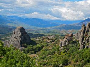 das Tal von Meteora